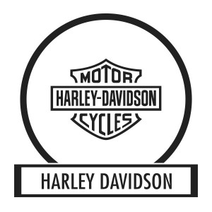 Motor sticker, Motor decal - 01.Motor sticker - Harley Davidson