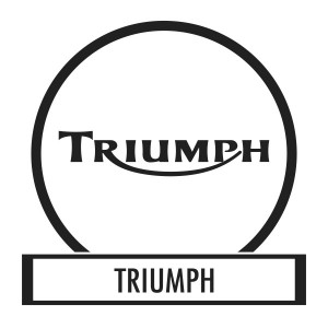 Motor sticker, Motor decal - 01.Motor sticker - Triumph