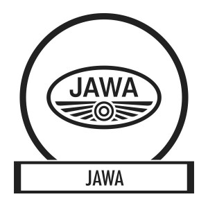 Motor sticker, Motor decal - 01.Motor sticker - Jawa
