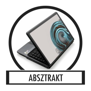 Laptop sticker, Notebook sticker - Abstract