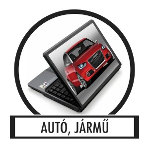 Laptop sticker, Notebook sticker - Vehicle