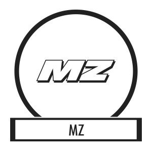 Motor sticker, Motor decal - 01.Motor sticker - MZ