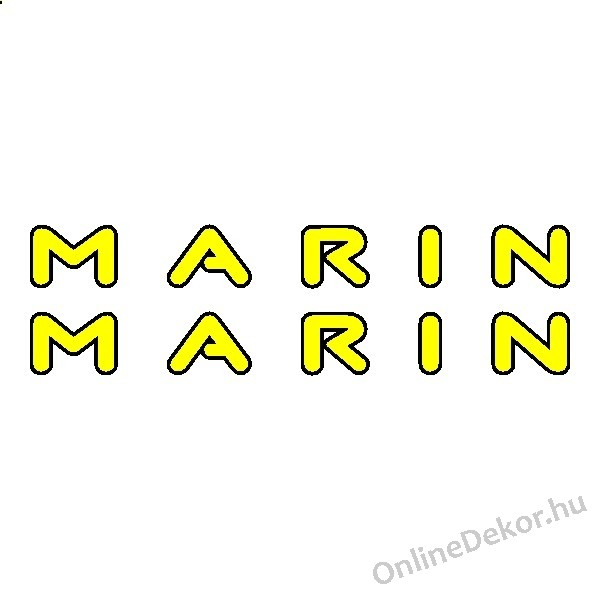 Bicycle Sticker Bicycle Decal Marin Marin Logo And Decal