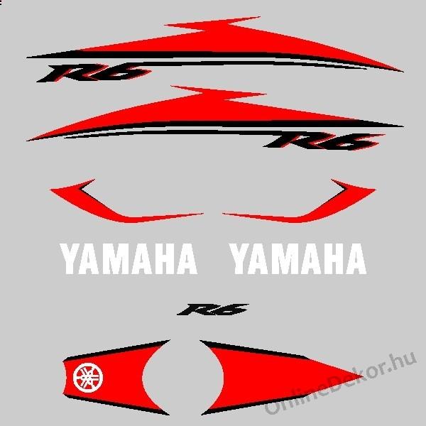 Motor Sticker   Yamaha   YZF R6 (2007)