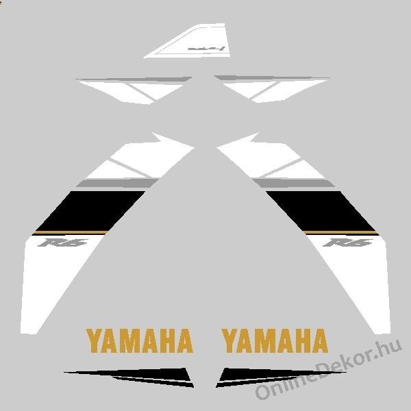 Motor Sticker   Yamaha   YZF R6 (2008 2009)