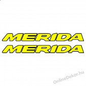 bicycle sticker bicycle decal merida