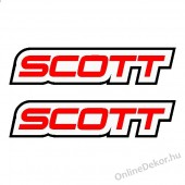 bicycle sticker bicycle decal scott
