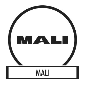 Bicycle sticker, Bicycle decal - Mali