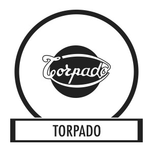 Bicycle sticker, Bicycle decal - Torpado