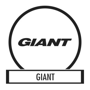 Bicycle sticker, Bicycle decal - Giant