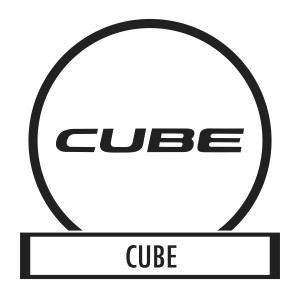 Bicycle sticker, Bicycle decal - Cube