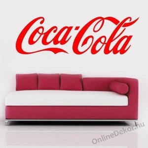 Wall sticker, Wall tattoo, Wall decoration, Wall decal - Brand name - Coca Cola 1635