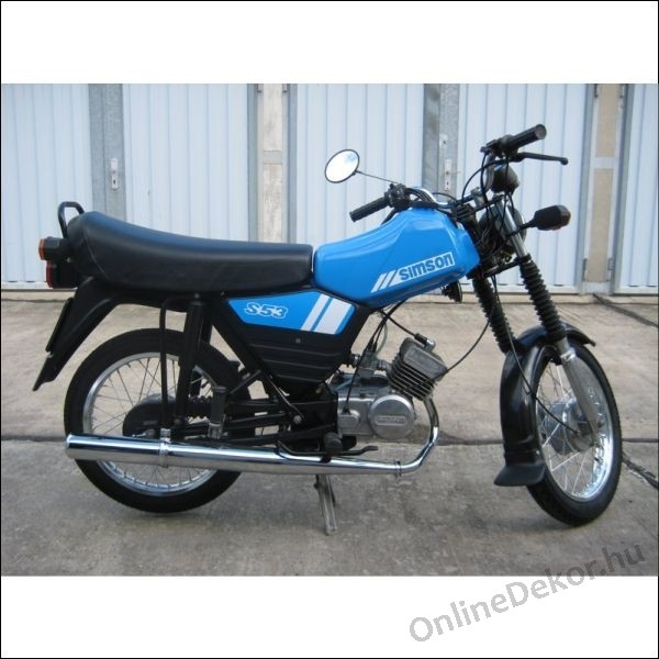 motor sticker motor decal 02 scooter sticker simson s53 enduro. Black Bedroom Furniture Sets. Home Design Ideas