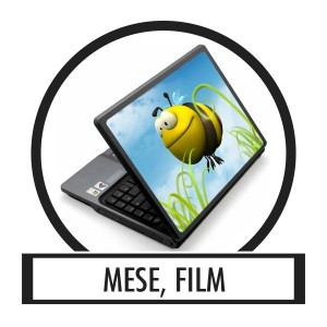Laptop sticker, Notebook sticker - Tale, movie