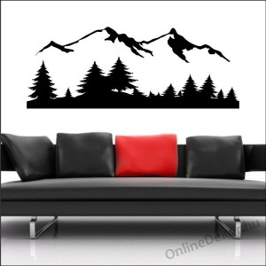 Wall sticker, Wall tattoo, Wall decoration, Wall decal - City - Mount 1921