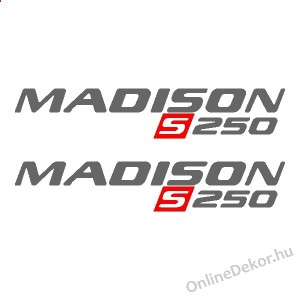 Motor sticker, Motor decal - 02.Scooter sticker - Malaguti - Madison S250