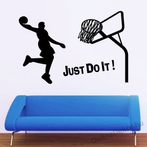Wall sticker, Wall tattoo, Wall decoration, Wall decal - Sport - Basketball 1950