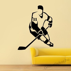 Wall sticker, Wall tattoo, Wall decoration, Wall decal - Sport - Ice Hockey 1951
