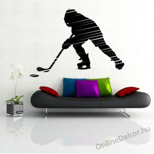 Wall sticker, Wall tattoo, Wall decoration, Wall decal - Sport - Ice Hockey 1952