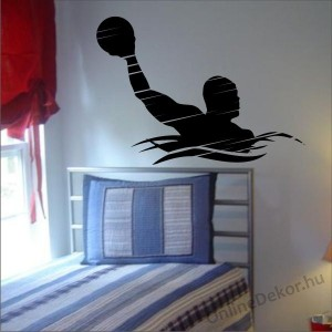 Wall sticker, Wall tattoo, Wall decoration, Wall decal - Sport - Water polo 1953