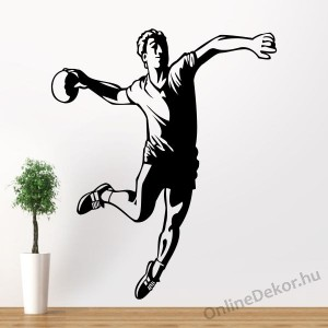 Wall sticker, Wall tattoo, Wall decoration, Wall decal - Sport - Handball 1954
