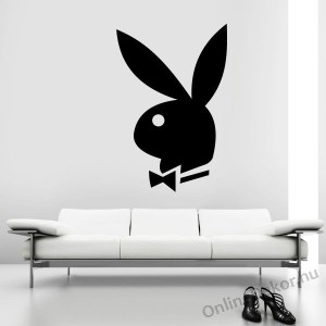 Wall sticker, Wall tattoo, Wall decoration, Wall decal - Brand name - Playboy 1957