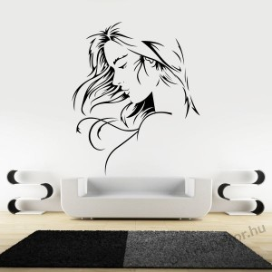 Wall sticker, Wall tattoo, Wall decoration, Wall decal - Celeb - Woman face 1961