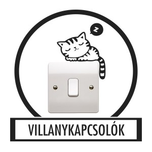 Wall sticker, Wall tattoo, Wall decoration, Wall decal - Light switch