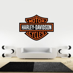 Wall sticker, Wall tattoo, Wall decoration, Wall decal - Brand name - Harley Davidson 1981