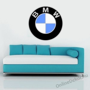 Wall sticker, Wall tattoo, Wall decoration, Wall decal - Brand name - BMW 1982