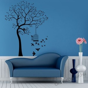 Wall sticker, Wall tattoo, Wall decoration, Wall decal - Tree - Tree 2017