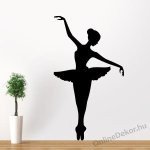 Wall sticker, Wall tattoo, Wall decoration, Wall decal - Sport - Ballerina 2018