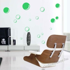 Wall sticker, Wall tattoo, Wall decoration, Wall decal - Separate sticker set - Bubble 2022