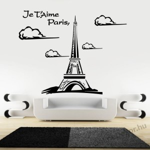Wall sticker, Wall tattoo, Wall decoration, Wall decal - City - Paris 2023