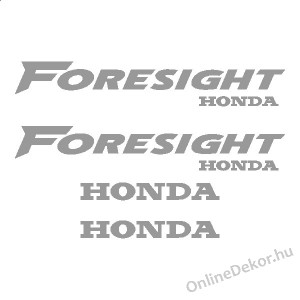 Motor sticker, Motor decal - 02.Scooter sticker - Honda - Foresight