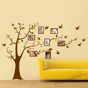Wall sticker, Wall tattoo, Wall decoration, Wall decal - Family tree, Photo position - Family tree 2100