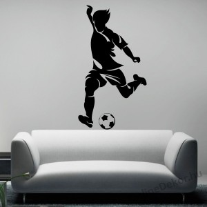 Wall sticker, Wall tattoo, Wall decoration, Wall decal - Sport - Football player  2103