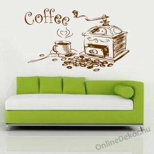 Wall sticker, Wall tattoo, Wall decoration, Wall decal - Kitchen - Coffee 2104