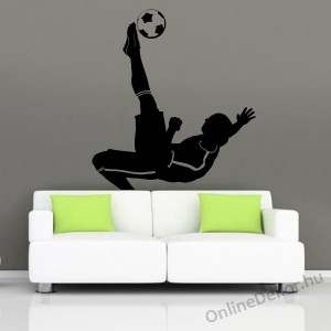 Wall sticker, Wall tattoo, Wall decoration, Wall decal - Sport - Football player 2117