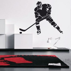 Wall sticker, Wall tattoo, Wall decoration, Wall decal - Sport - Ice Hockey 2118