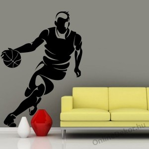 Wall sticker, Wall tattoo, Wall decoration, Wall decal - Sport - Basketball 2119