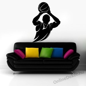 Wall sticker, Wall tattoo, Wall decoration, Wall decal - Sport - Basketball 2120