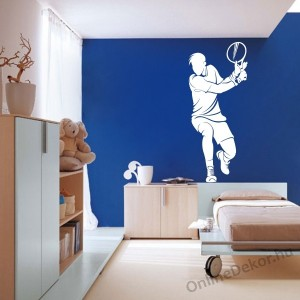 Wall sticker, Wall tattoo, Wall decoration, Wall decal - Sport - Tennis 2121