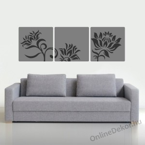 Wall sticker, Wall tattoo, Wall decoration, Wall decal - Mosaic wall tattoo - Flower 2136