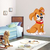 Wall sticker, Wall tattoo, Wall decoration, Wall decal - Children's room - 04.Printed wall sticker II. (No colour) - Dog 2139