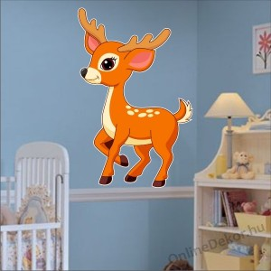 Wall sticker, Wall tattoo, Wall decoration, Wall decal - Children's room - 04.Printed wall sticker (No colour) - Roe 2144