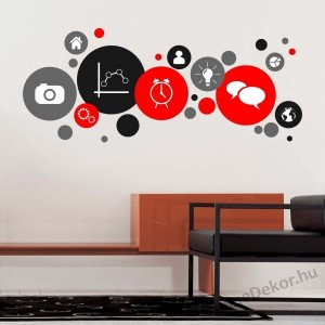 Wall sticker, Wall tattoo, Wall decoration, Wall decal - Office - Office 2151