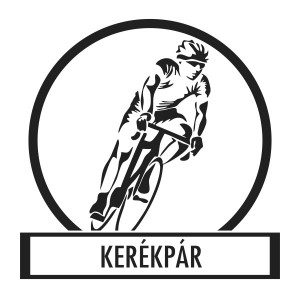 Wall sticker, Wall tattoo, Wall decoration, Wall decal - Kerékpár