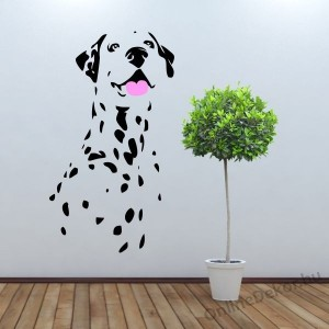 Wall sticker, Wall tattoo, Wall decoration, Wall decal - Kutyák - Dalmatian 2196
