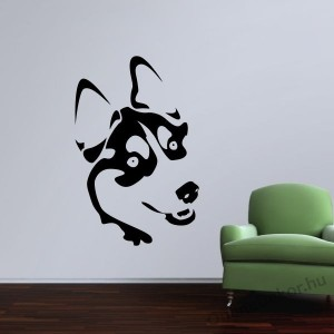 Wall sticker, Wall tattoo, Wall decoration, Wall decal - Kutyák -  2208